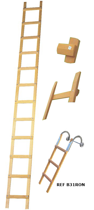 Echelles ECHELLES DE COUVREUR Echelles Fabricant Passerelles Marchepieds  # Comment Fixer Une Echelle De Toit En Bois