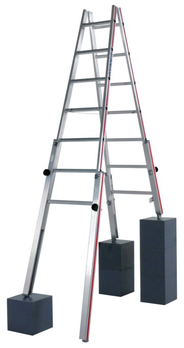 echelles echelle a 4 pieds reglables pour escaliers echelles fabricant passerelles. Black Bedroom Furniture Sets. Home Design Ideas