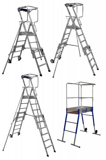 location plateformes de chantier en aluminium. Black Bedroom Furniture Sets. Home Design Ideas
