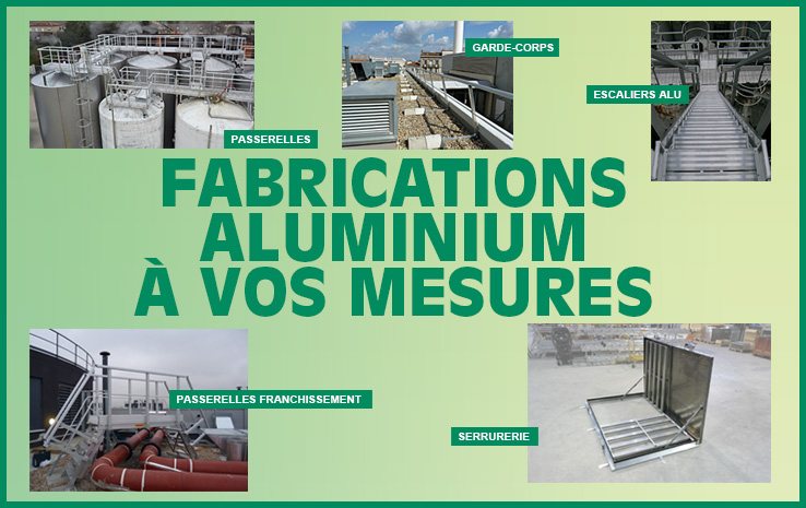 FABRICATIONS ALU SUR MESURE